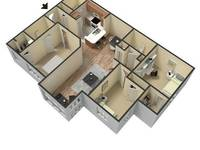 $1,550 / Month Apartment For Rent