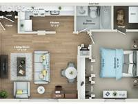 $975 / Month Apartment For Rent