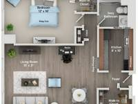 $1,395 / Month Apartment For Rent