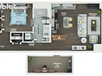$1,400 / Month Apartment For Rent