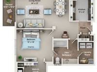 $1,755 / Month Apartment For Rent