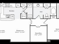 $2,053 / Month Apartment For Rent