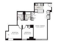 $4,750 / Month Apartment For Rent: LUXURY Renovated 2Bed/2Bath, High Ceilings, New...