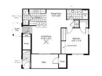 $839 / Month Apartment For Rent