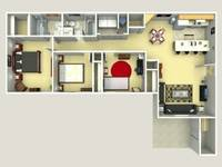 $1,075 / Month Apartment For Rent