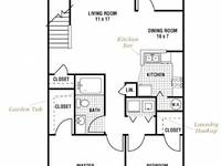 $970 / Month Apartment For Rent