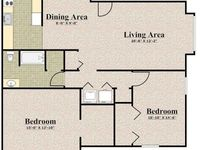 $1,525 / Month Apartment For Rent