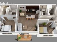 $1,327 / Month Apartment For Rent