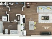 $945 / Month Apartment For Rent
