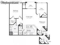 $1,668 / Month Apartment For Rent