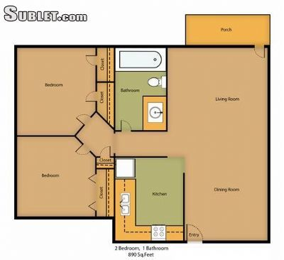 Two Bedroom In Milwaukee Suburbs North