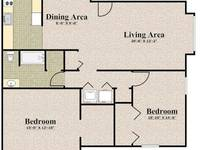 $1,350 / Month Apartment For Rent