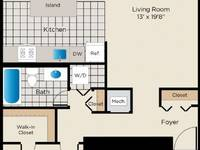 $1,915 / Month Apartment For Rent