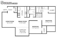 $1,249 / Month Apartment For Rent