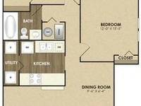$1,230 / Month Apartment For Rent