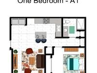 $761 / Month Apartment For Rent